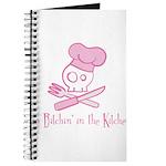 Chefs Hat Skull Journal