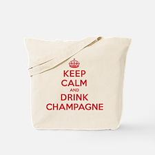 K C Drink Champagne Tote Bag