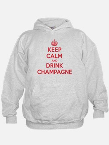 K C Drink Champagne Hoodie