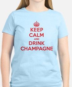 K C Drink Champagne T-Shirt