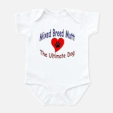Mixed Breed Mutt Infant Bodysuit
