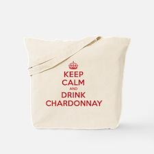 K C Drink Chardonnay Tote Bag