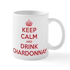 K C Drink Chardonnay Mug