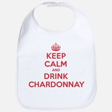 K C Drink Chardonnay Bib