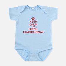 K C Drink Chardonnay Infant Bodysuit