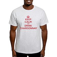 K C Drink Chardonnay T-Shirt