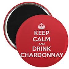 K C Drink Chardonnay Magnet