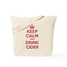 K C Drink Cider Tote Bag