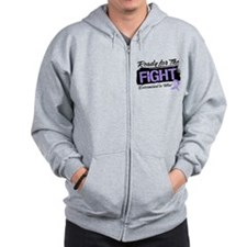 Ready Fight General Cancer Zip Hoodie