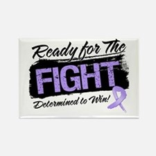 Ready Fight General Cancer Rectangle Magnet