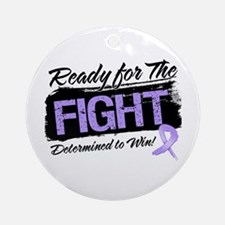 Ready Fight General Cancer Ornament (Round)