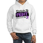 Ready Fight GIST Cancer Hooded Sweatshirt