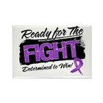 Ready Fight GIST Cancer Rectangle Magnet