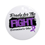 Ready Fight GIST Cancer Ornament (Round)
