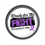 Ready Fight GIST Cancer Wall Clock
