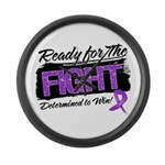 Ready Fight GIST Cancer Large Wall Clock