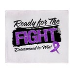 Ready Fight GIST Cancer Throw Blanket