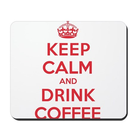 K C Drink Coffee Mousepad
