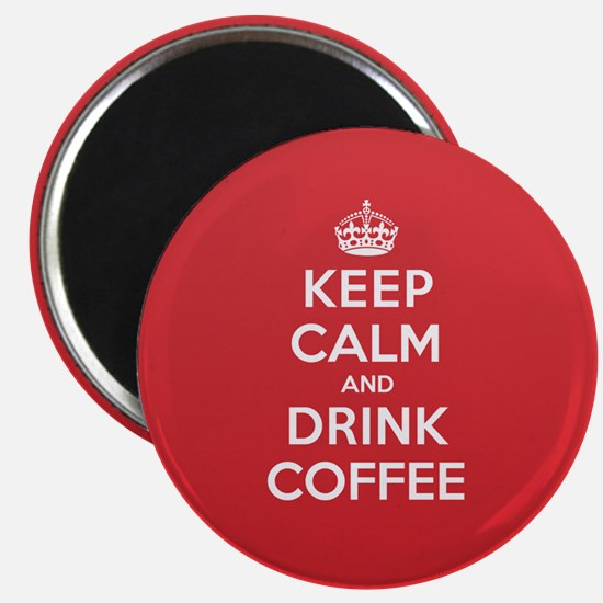K C Drink Coffee Magnet