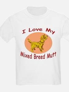Love my mutt oval frame T-Shirt