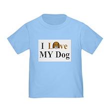 I Love My Dog T