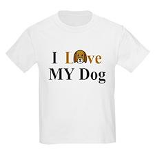 I Love My Dog T-Shirt