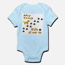 My Mut Walks all over me Infant Bodysuit