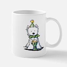 Birthday Ice Cream Westie Mug