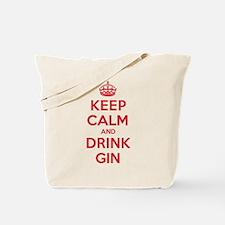 K C Drink Gin Tote Bag