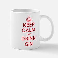 K C Drink Gin Mug