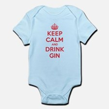 K C Drink Gin Infant Bodysuit