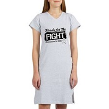 Ready Fight Lung Cancer Women's Nightshirt