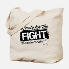 Ready Fight Lung Cancer Tote Bag