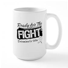 Ready Fight Lung Cancer Mug