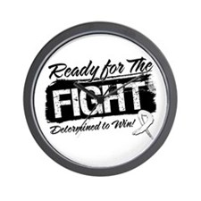 Ready Fight Lung Cancer Wall Clock
