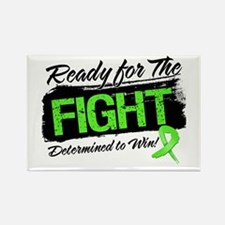 Ready Fight Lymphoma Rectangle Magnet
