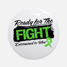 Ready Fight Lymphoma Ornament (Round)