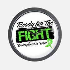 Ready Fight Lymphoma Wall Clock