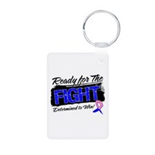 Fight Male Breast Cancer Keychains