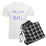 No Dream Too Big Men's Light Pajamas