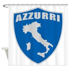 Italian World Cup Soccer Shower Curtain