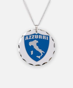 Italian World Cup Soccer Necklace
