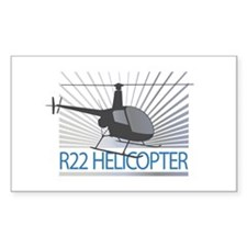 Aircraft R22 Helicopter Decal