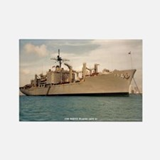 USS WHITE PLAINS Rectangle Magnet