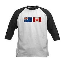 australia canada flags Tee