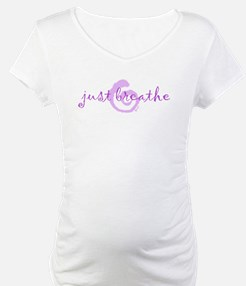 just breathe purple Shirt
