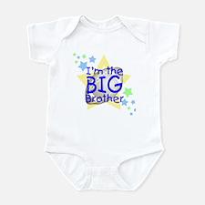 I'm the big brother (football/star) Infant Creeper