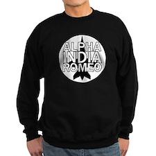 AIR - Black & White Jet Sweatshirt