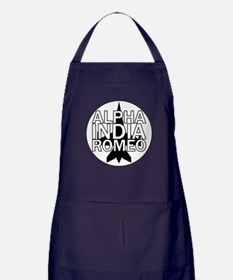 AIR - Black & White Jet Apron (dark)