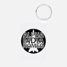 AIR - Black & White Jet Keychains